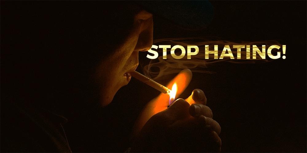 don't stop smoking
