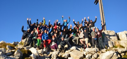 Gemeinsame Wanderung zum Sonnenaufgang auf Weißhorn