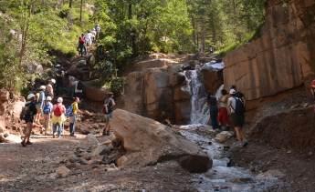 Geführte Wanderungen speziell für Kinder im Geoparc Bletterbach