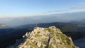 Luftbild Weißhorn Gipfel