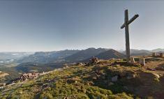 Sulla cima del Corno Nero