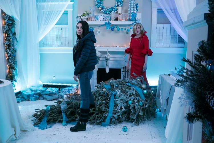 Mila Kunis and Christine Baranski in A BAD MOMS CHRISTMAS