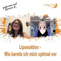 Vanessa Vorbreitung Liposuktion