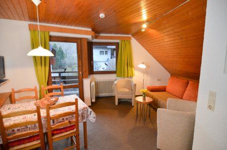 Wohn-/Essbereich, Sessel und Sofa
