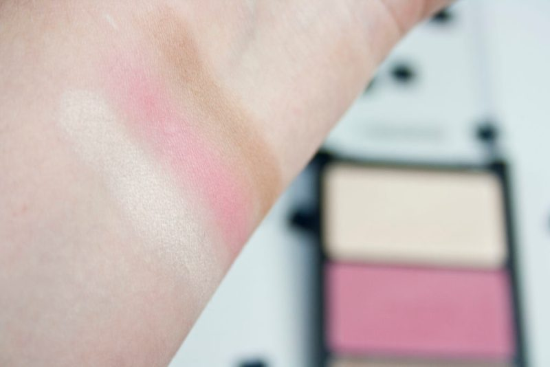 Swatch Catrice Contouring Puder Palette