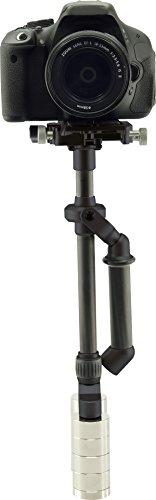 Rollei Mini Wild Cat Stabilizer mit Mini Steadycam Schwebestativ für Kompaktkamera/Actioncam/Smartphone schwarz -