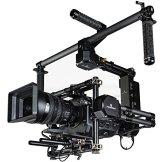 IKAN GR-T03 Gravity 3-Axis Handheld Gimbal System für Cinema Kamera/DSLR mit Motion Mimicking Control System und Hard Case schwarz -