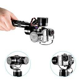 Neewer® Z-One-Pro 3-Achsen High-precision Handheld tragbare stabil Gimbal Halterung PTZ Kamera Mount Built-in independent IMU Module Stabilisator für Gopro 4 3+ 3 2 1 -