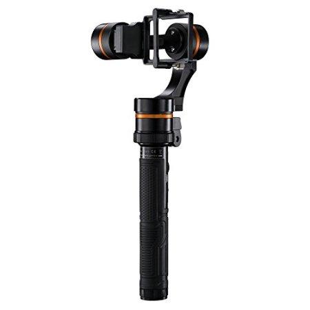 Walimex Pro Waver 3-Achs Gimbal für GoPro schwarz/orange -