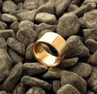 ring bronze size 7.5 -4