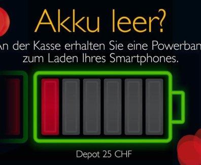 Kein leeres Smartphone mehr – Swiss Casionos St. Gallen