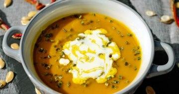 Kessel-Curryrahmsuppe