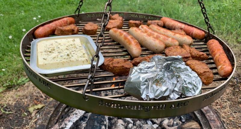 Edelstahl Grillrost- Perfekt für den Schwenkgrill