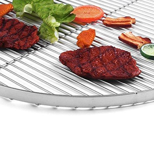 Grillrost für den Schwenkgrill rund 60 cm aus Edelstahl
