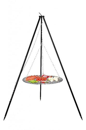 FARMCOOK Schwenkgrill NOBEL Dreibein mit Grillrost aus Rohstahl in 4 Größen (Ø 70 cm) - 3