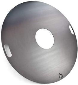 Feuerplatte | Grillring | Grillplatte | Plancha - Universalgröße für Stahlfässer, Öltonnen Stahltonnen oder große Kugelgrills - Der Neue Grill-Trend (Ø 100 Universal) - 1