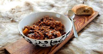 Chili Con Carne aus dem Grillkessel
