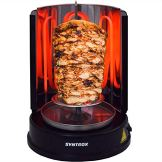 Syntrox Germany Dönergrill Rotisserie Gyrosgrill Hähnchengrill Tischgrill Black RO-1400W-BL - 1