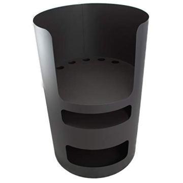 A. Weyck Tools Multifunktionstonne | Feuertonne | Feuerplatte | Dutch Oven Station | Pizza Ofen | Kamin | Plancha | Komplettsets (Multitonne-100cm Feuerplatte Set #170) - 3