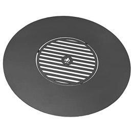 CookKing Grillplatte für Feuerschale mit Grillrost innen 82cm Ø Rost 40 Ø - 1