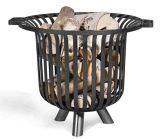 Feuerkorb Verona Ø 60cm Feuerstelle für den Garten aus Stahl Feuersäule als Wärmequelle oder Grill Hand Made Product CookKing - 1
