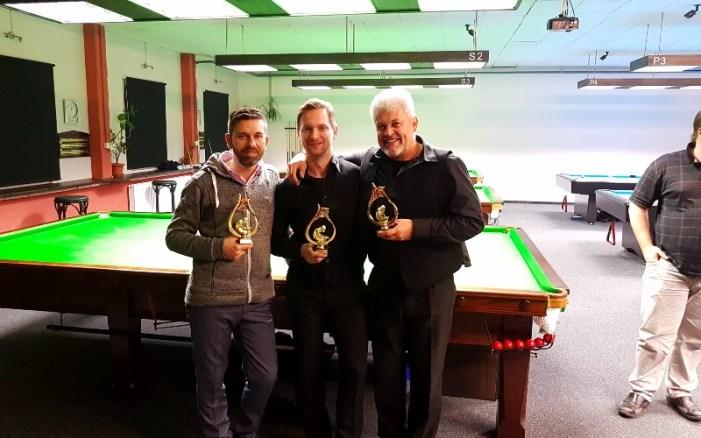Weihnachtsturnier Pool & Snooker 2016 in Schwerin