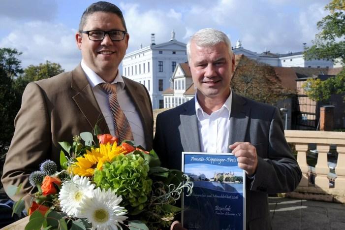 Schwerin schreibt Annette-Köppinger-Preis aus