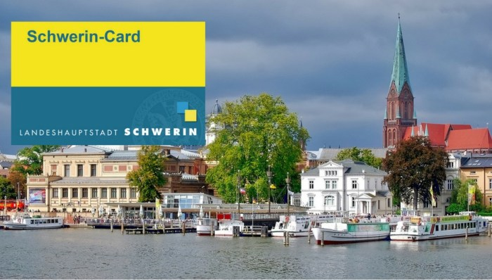 Schwerin-Card bietet viele Vergünstigungen