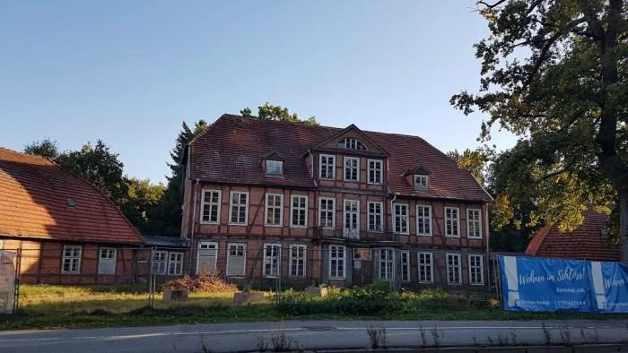 Wohnen im Jagdschloss: Investoren kommen in Friedrichsthal voran