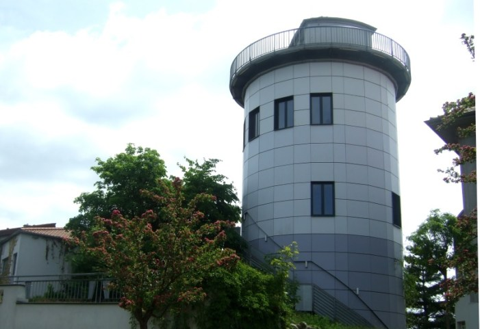 Kuppel der Sternwarte Schwerin erneuert