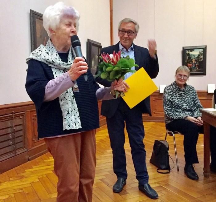 Kunst- und Museumsverein verleiht Ehrenmitgliedschaft an Edith Beckman