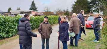 Friedrichsthal: Baudezernent Nottebaum schaut sich Probleme vor Ort an