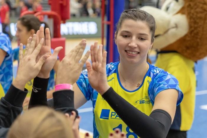 Hundertprozentig auf Volleyball fokussiert