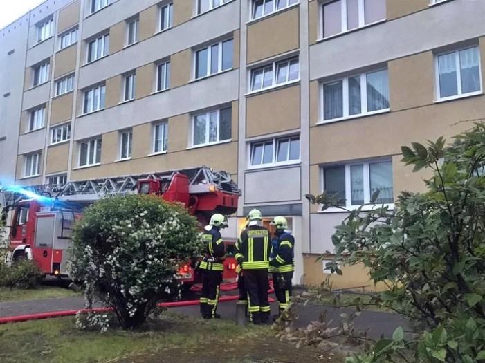 Küchenbrand in der Friedrich-Engels-Straße