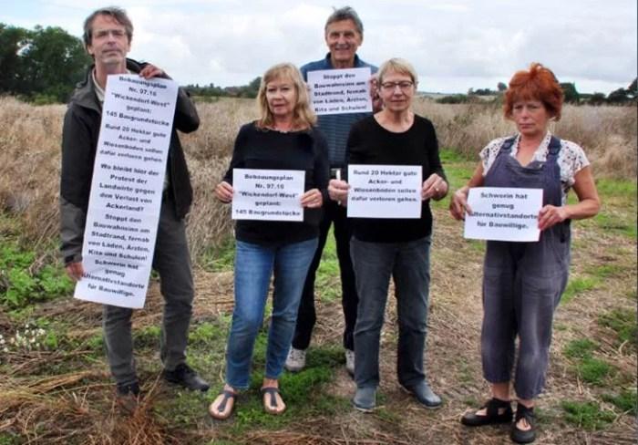 Schwerin: Grüne kritisieren Baugebiet in Wickendorf