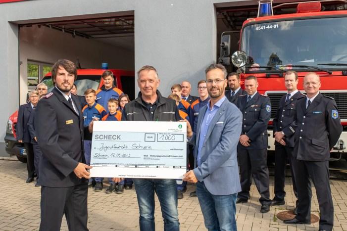Schwerin: WGS bedankt sich bei Feuerwehr