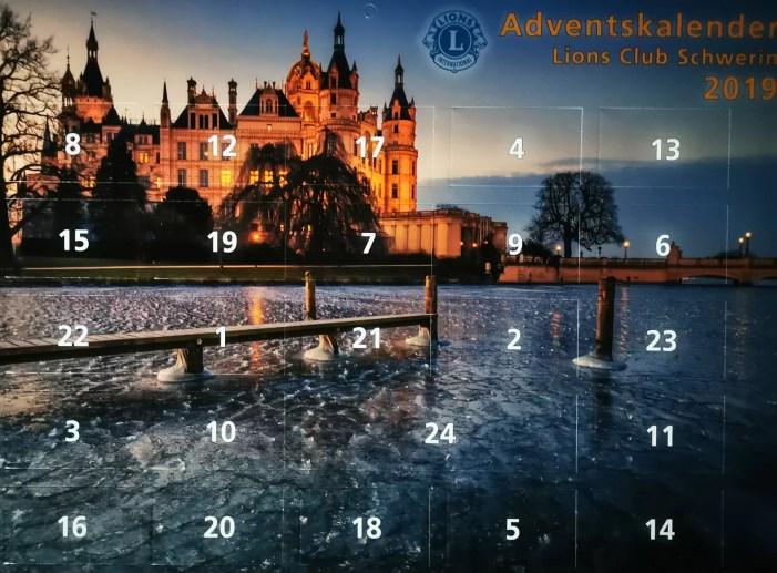 Schwerin: Heutige Gewinne des Lions-Kalenders#14