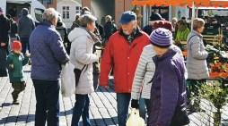 Schwerin: Wochenmarkt und Corona-Virus