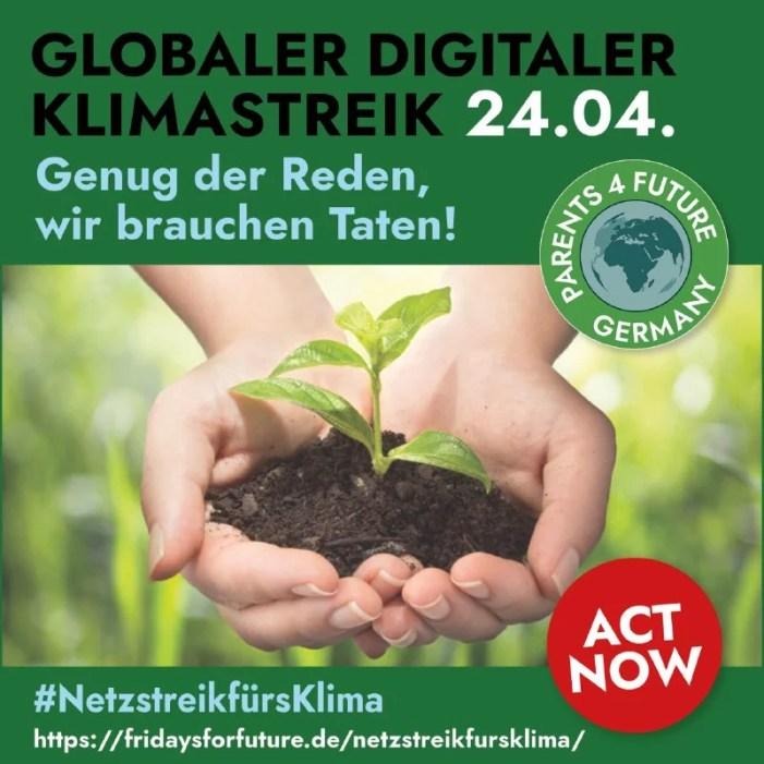 Schwerin: Kundgebung von Parents for future