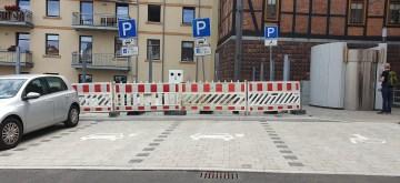 Schwerin: Behindertenparkplatz wegrationalisiert?