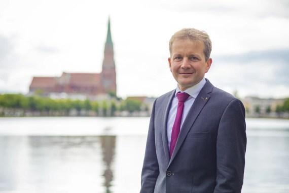 Schwerin: Oberbürgermeister ging mit klaren Vorschlägen in den MV-Gipfel
