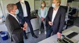 Schwerin: Airsense will Unternehmensprozesse neu strukturieren – Oberbürgermeister zeigt sich interessiert