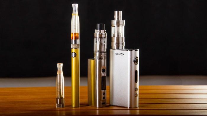 E-Zigarette: Vor- und Nachteile