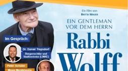 Rabbi Wolff – Hommage an einen kleinen, großen Schweriner