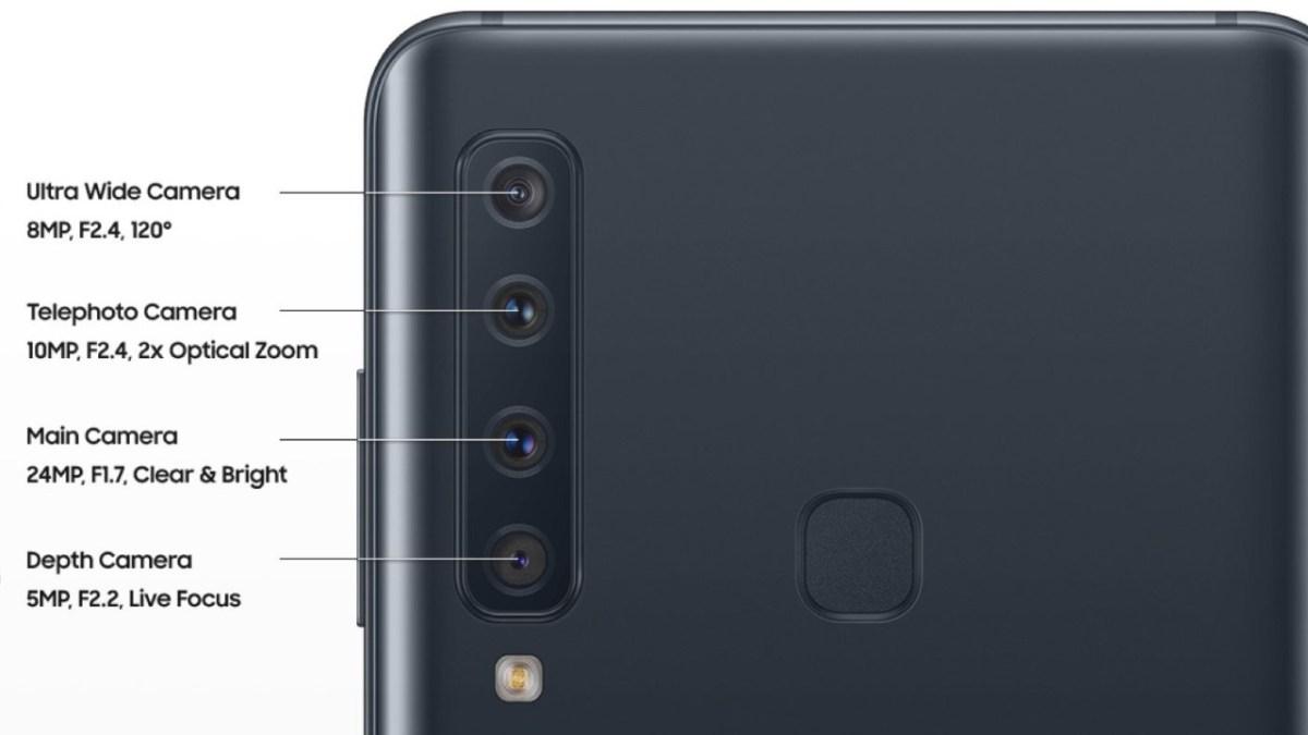 Depth Sensor in Samsung Galaxy A9