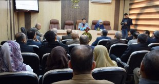 Faculty of Science organizes a seminar on the importance of archaeological geology in Iraq