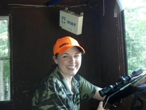 Girl Hunting Russin Boars