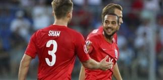 Walcott scores fourth for England