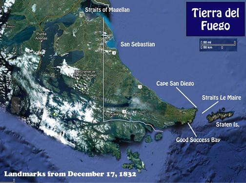 Tierra del Fuego Dec 17 1932