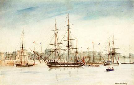 HMS Beagle by Pwen Stanley